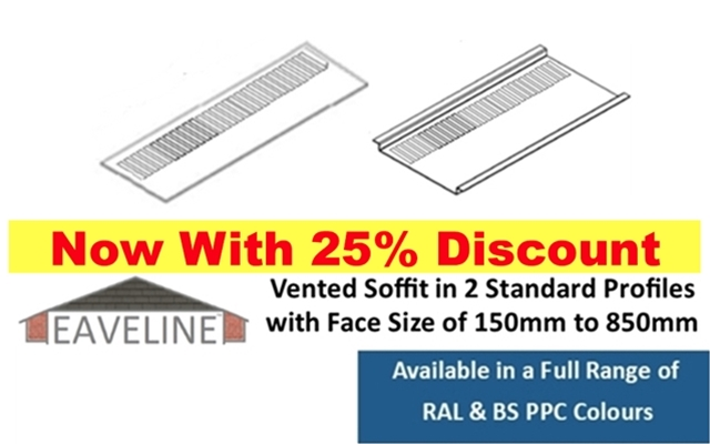 Soffit - Vented