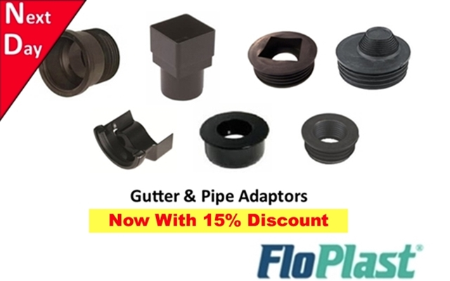 Pipe, Gutter & Drain Adapters