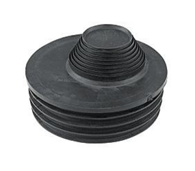 D95 - Universal Rubber Waste/Drain Adaptor for 32, 40 & 50mm Pipe