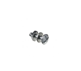 NBW630307 - M6 x 20mm Aluminium Nut, Bolt & Washer (For Aluminium Gutter Joints)
